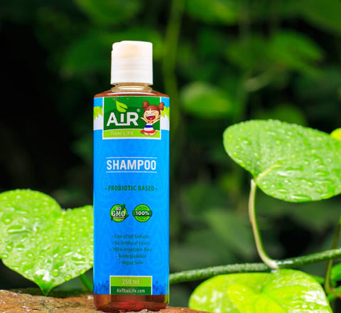 Air Thai Life Probiotic Based beautiful Shampoo. Product photo.