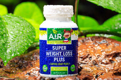 Air Thai Life Super Weight Loss Plus Superfood. Photo of the Super Weight Loss Plus product bottle.