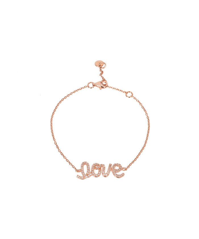LOVE BRACELET - ROSE GOLD - Fala Jewelry
