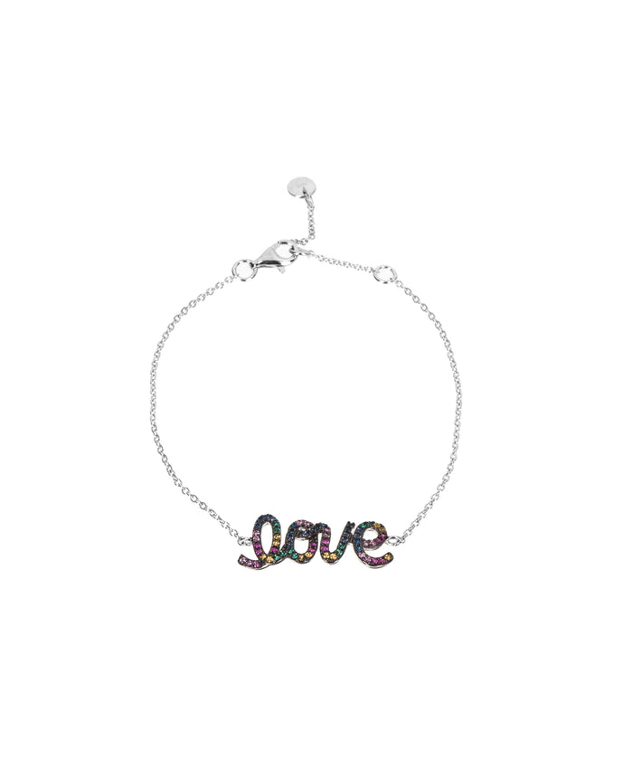 LOVE BRACELET - RAINBOW - Fala Jewelry