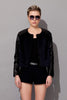 Jocelyn Leather Bomber Jacket