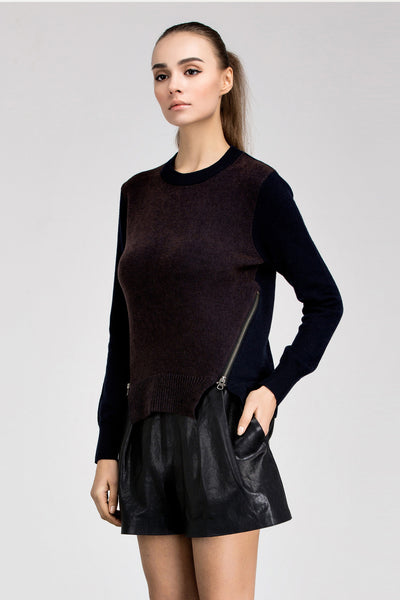 Jana Zipper Sweater