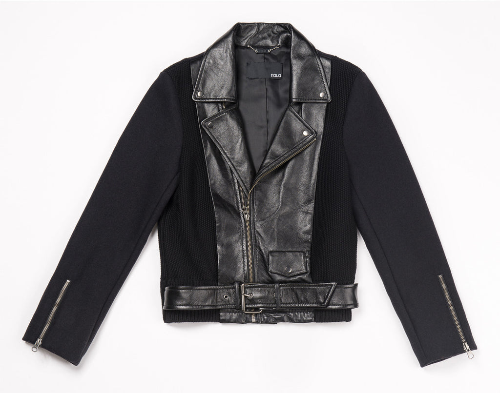 Z Samantha Leather Jacket - Fala Jewelry