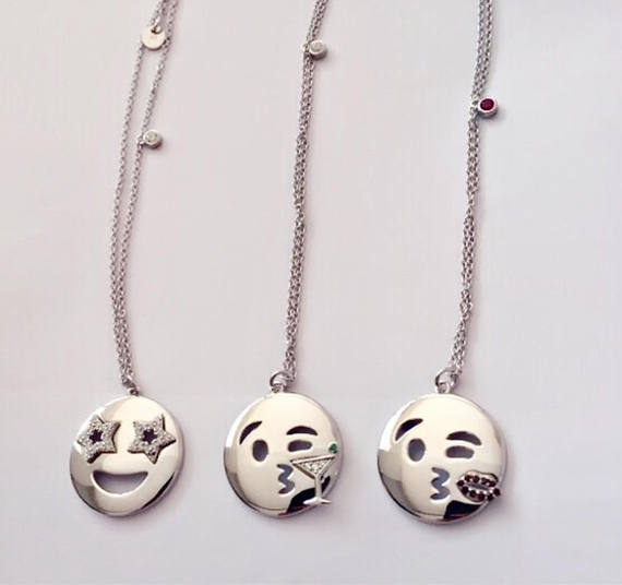 EMOJI NECKLACE - STAR - SILVER - Fala Jewelry