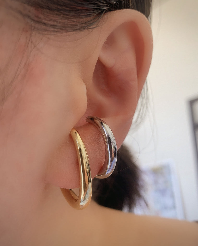 CHUNKY HOOP EARRINGS