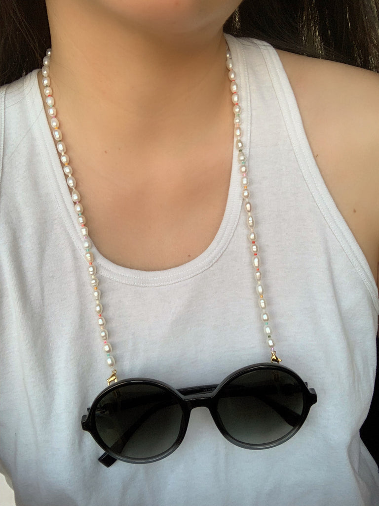 Pearl Mask / EYEGLASSES CHAIN