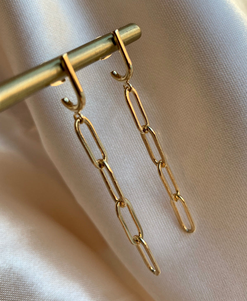 Link Chain Earrings