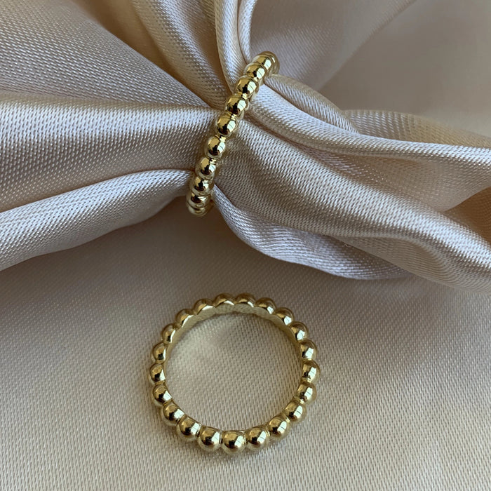 Dot Dainty Ring - Gold