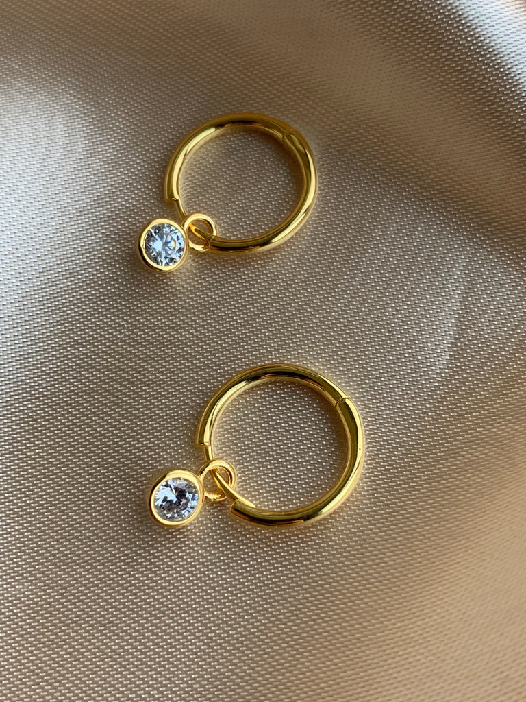 CHARM Hoop Earrings