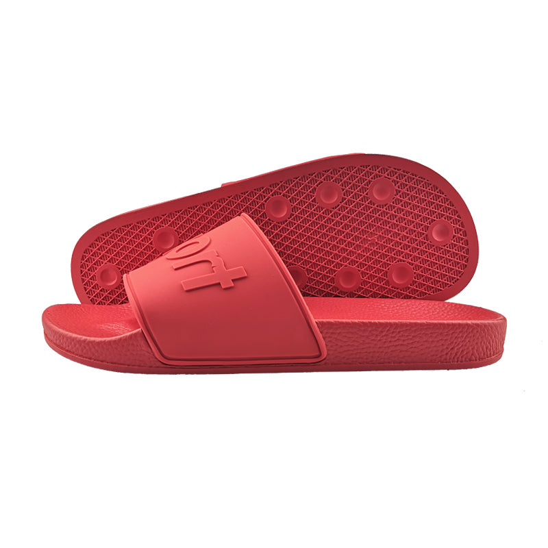 Red Rubber Sandal