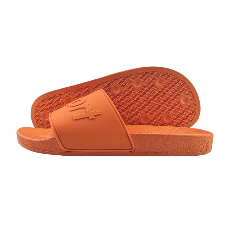 Orange Rubber Sandal