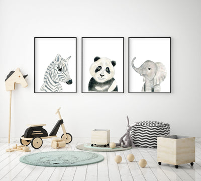 4 Benefits of Having Art in the Nursery