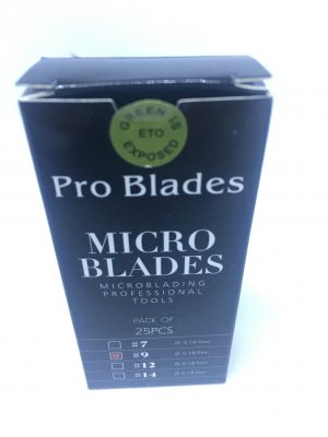 Load image into Gallery viewer, Pro Blade #9 Flexi Micro Blades for Microblading