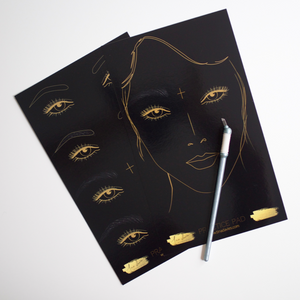 Load image into Gallery viewer, Tina Davies Angie Eyebrow Practice Mat Single Pad