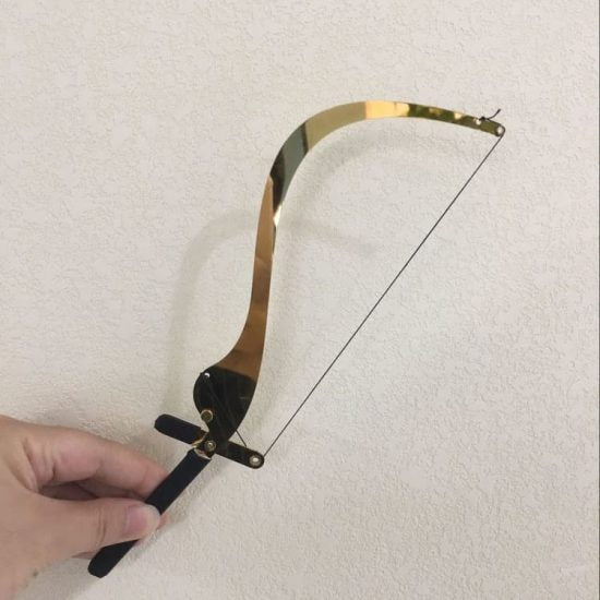 Bow String Caliper for Eyebrow Mapping