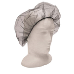 Black disposable hair nets, 100 Pack