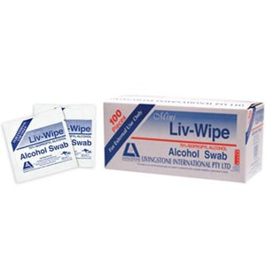 Alcohol Wipes for cosmetic tattooing