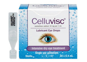 Celluvisc Lubricant Eye Drops - 5 Pack