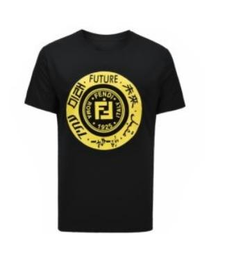Fendi Black and Yellow Tee - Munazul