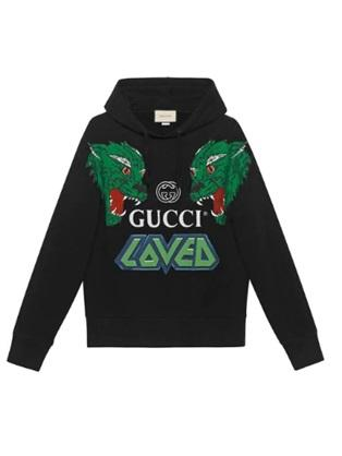 Gucci cotton sweatshirt with tigers - Munazul