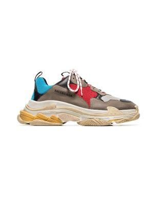Balenciaga Multicoloured Triple S sneaker. - Munazul