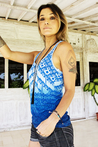 womens organic bamboo summer yoga tank top