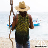 mens organic bamboo summer yoga tank top by zizwear
