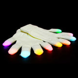 X.LED Premier Rave Gloves - Blue, Pink, Green