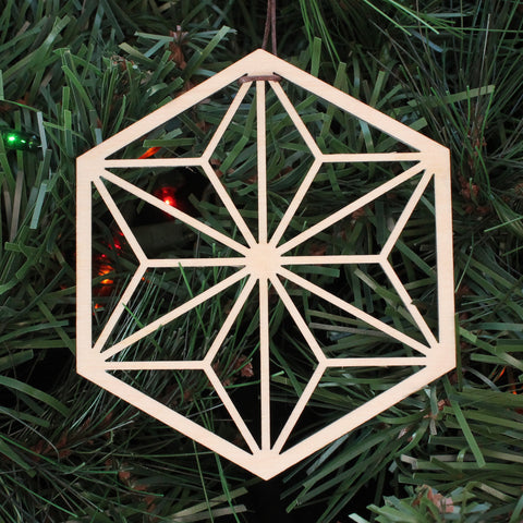 Asanoha Hexagon Ornament