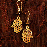 spiritual gifts for her, hamsa earrings