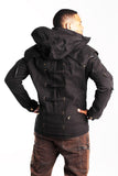 Lancelot Jacket - solid black - M or L