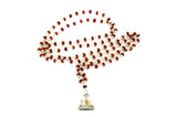 """Shakti Ma"" Real Silver and Rudraksha Mala - Blonde Vagabond"