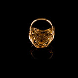 seed of life brass ring