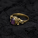 Steampunk style ring,