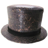 Top Hat, Faux Alligator - M/L