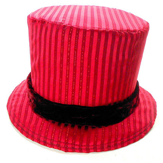 Red Ringmaster Top Hat