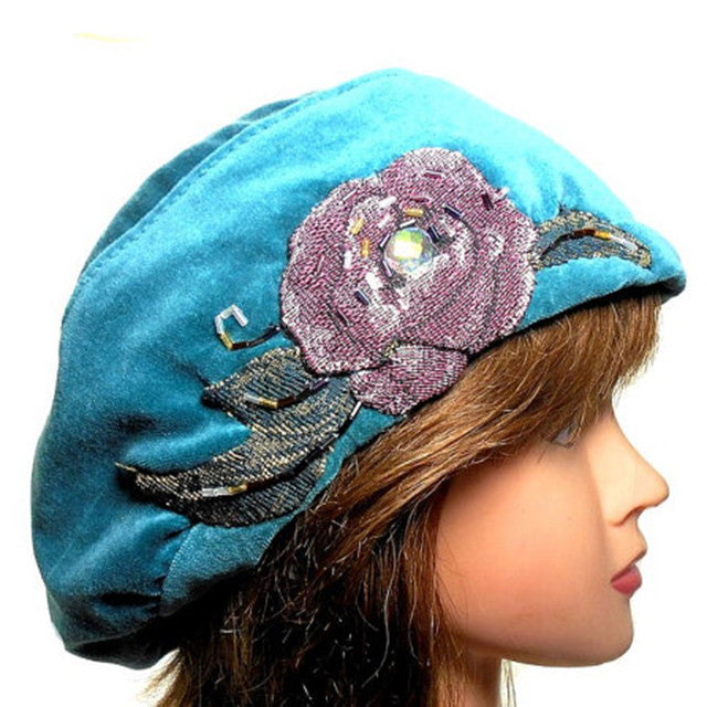 Turquoise Beret