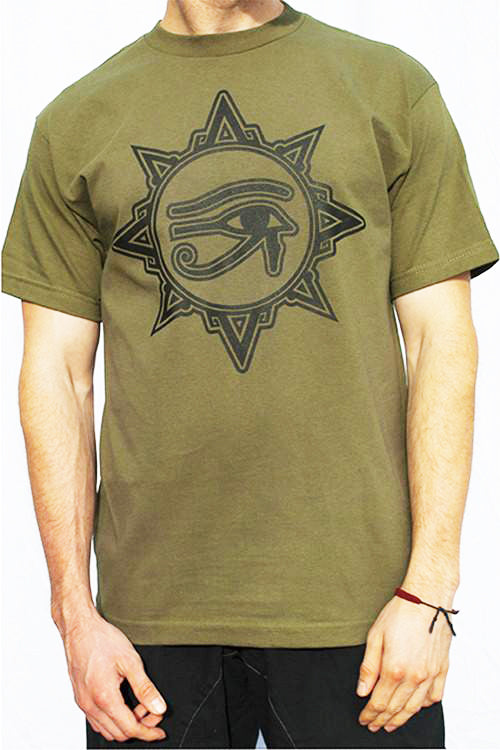 Guided By Spirit T-shirt - green