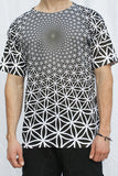 Flower of Life Vortex Sublimation T-shirt