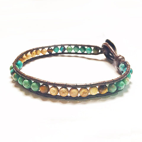 Gemstone Energy Bracelets - Desert Peace