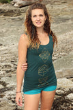 Dragonfly Tank with Geometry Print