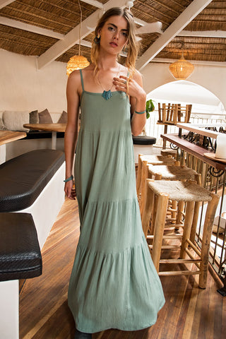 Breeze Dress - green