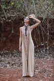 Luna Maxi Dress - desert sands