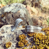 Feather Ring | Sterling Silver | TRIBE Jewelry by Sarah Lewis