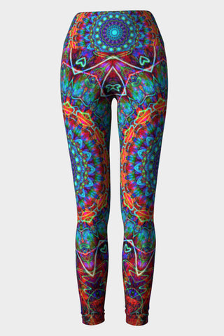 Lotus Heart Yoga Leggings