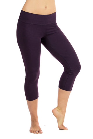 Malaya Bamboo Yoga Capris - Solid Colors