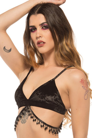 Enchantress Karma Bralette in Black Magic