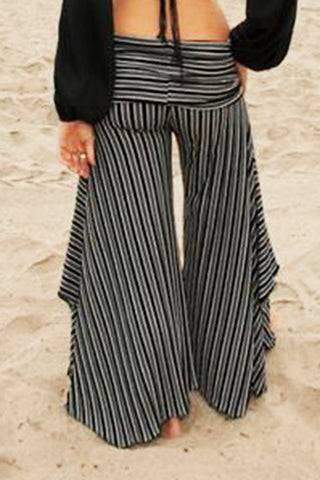 Stripey Flow Pants