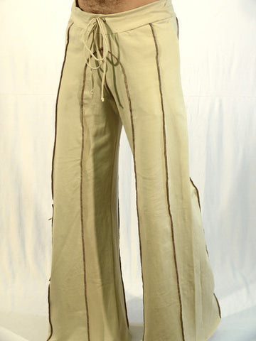 mens festival style burning man pants by om gaia tree