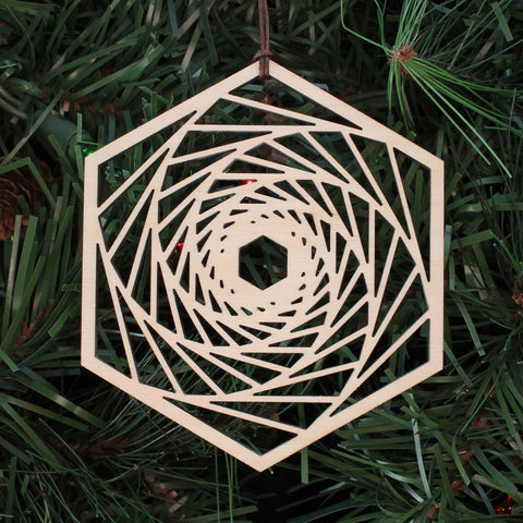 Orbital Reflections Holiday Ornament